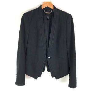 White House Black Market Black Blazer Size 4